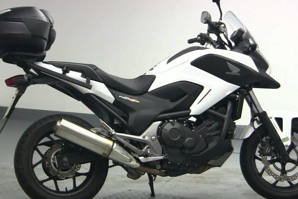 Used Honda Nc750 Available For Sale White 4400 Miles Honda Used Motorcycles
